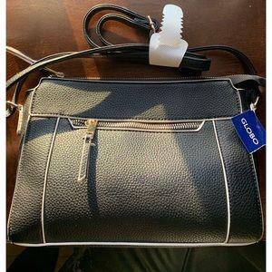 GLOBO Black Crossbody Bag